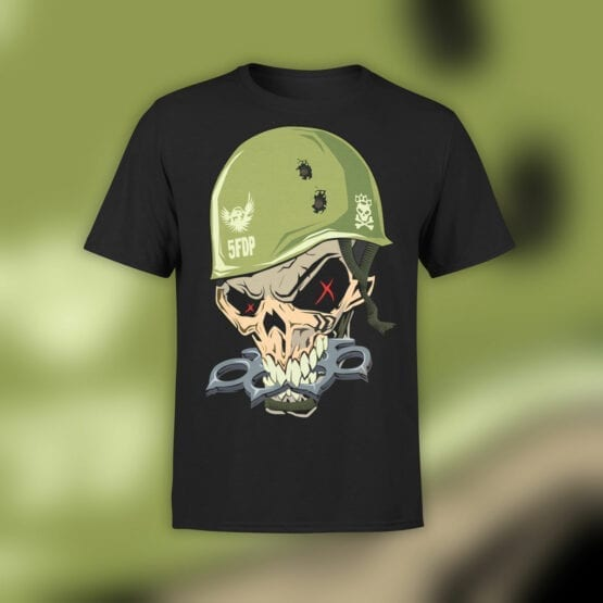 "Skull Shirt ""Brass Knuckles"""