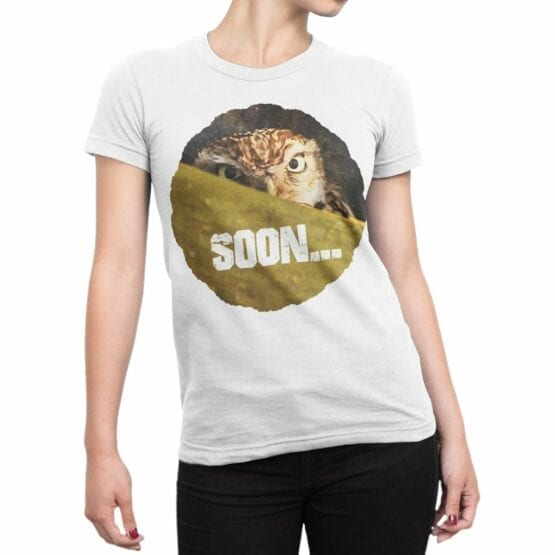 "Funny T-Shirts ""Soon"". Cool T-Shirts."