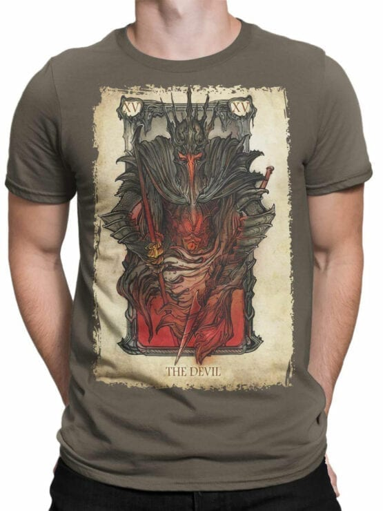 0389 Lord of the Rings T Shirt The Devil Front Man
