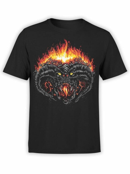 0391 Lord of the Rings T Shirt Balrog Front