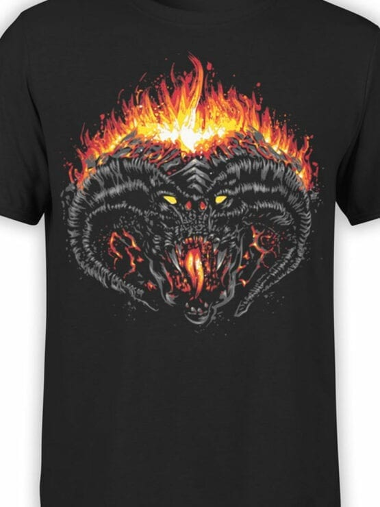 0391 Lord of the Rings T Shirt Balrog Front Color
