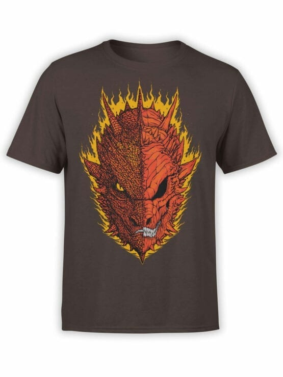 0393 Lord of the Rings T Shirt Mordor Front