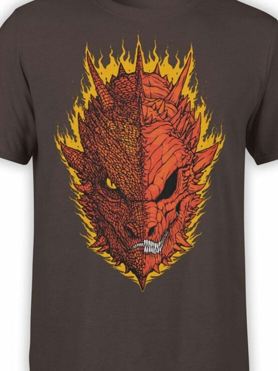 0393 Lord of the Rings T Shirt Mordor Front Color