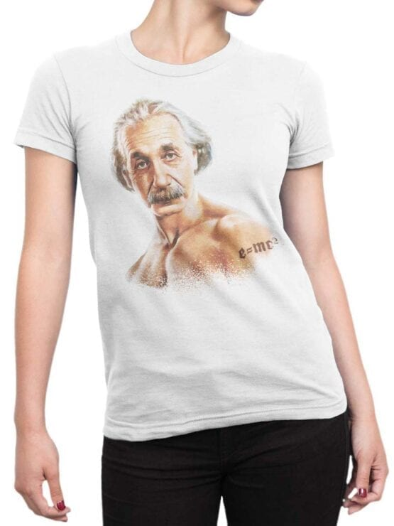 "Funny T-Shirts ""Cool Einstein"""
