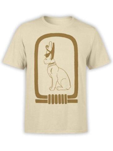 "Cool T-Shirts ""Hieroglyph Cat"""