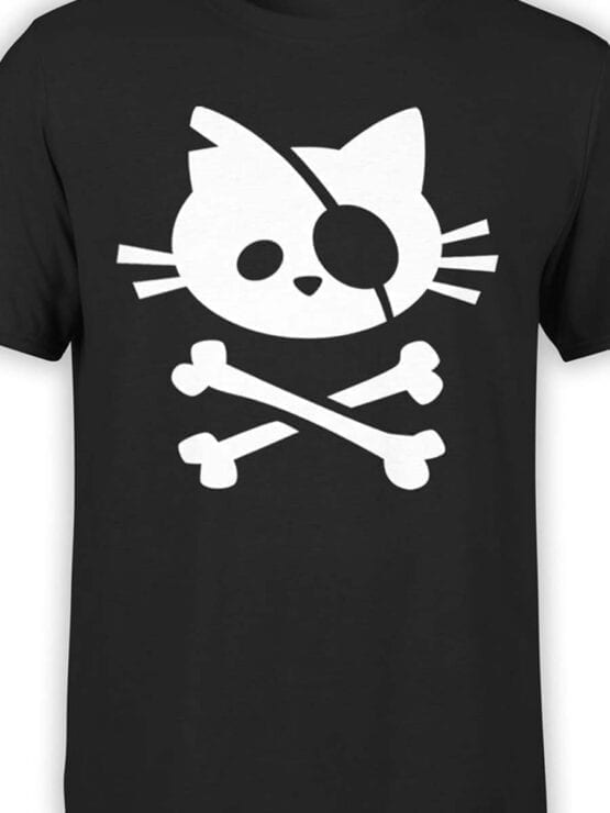 "Pirate Shirt ""Pirate Cat"". Cool T-Shirts."