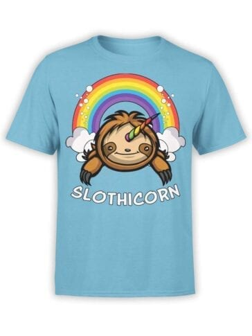 """Funny T-Shirts """"Slothicorn"""""""