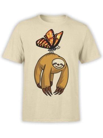 "Funny T-Shirts ""Flying Sloth"""