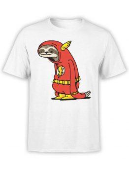 "Funny T-Shirts ""Flash Sloth"""