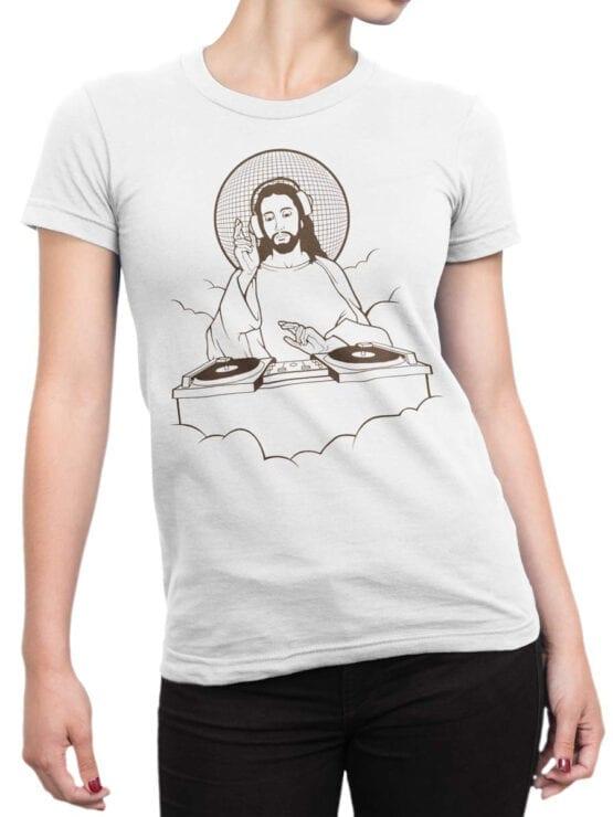 "Funny T-Shirts ""DJ Jesus"""