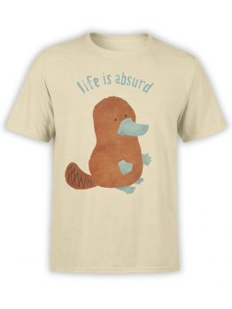 "Funny T-Shirts ""Life Is Absurd"""
