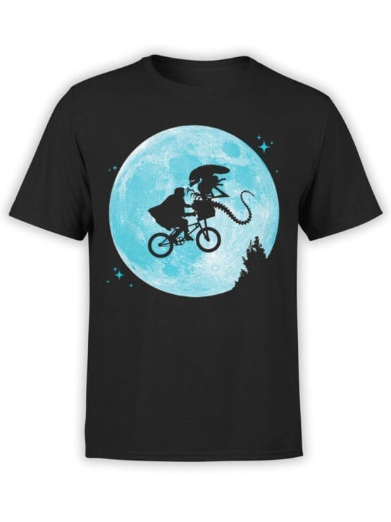 "Funny T-Shirts ""Aliens and E.T."""