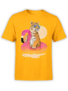 0437 Tiger Shirt Chillin