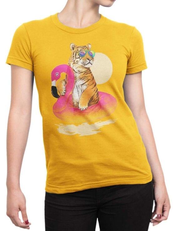0437 Tiger Shirt Chillin