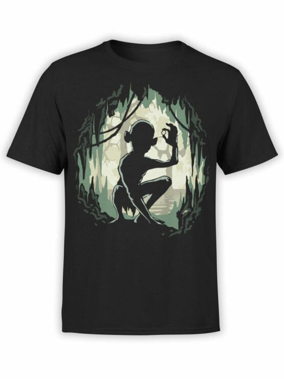 Lord of the Rings T Shirt Gollum Front