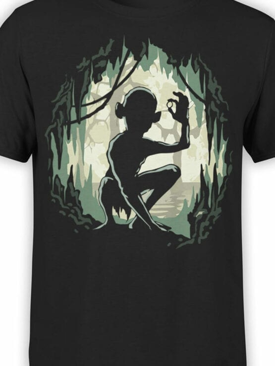 Lord of the Rings T Shirt Gollum Front Color