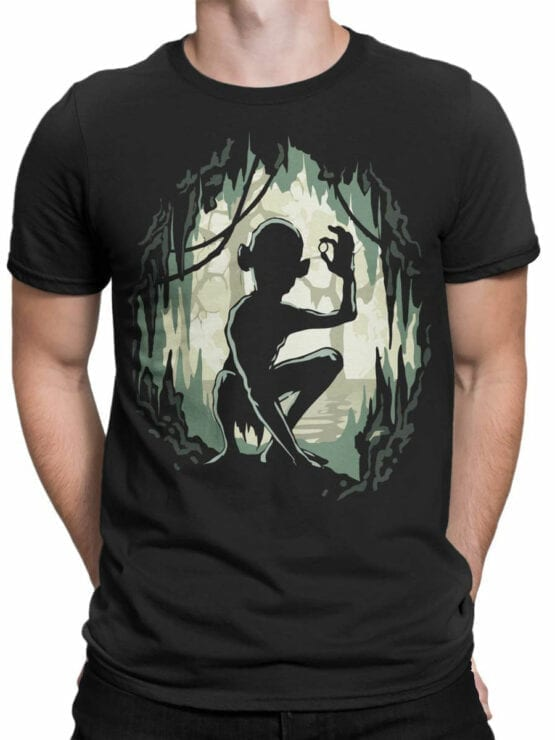 Lord of the Rings T Shirt Gollum Front Man