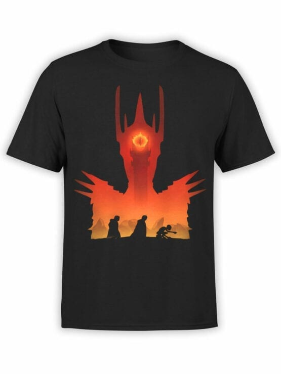 Lord of the Rings T Shirt Mordor Front