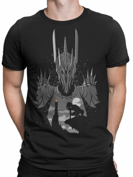 Lord of the Rings T Shirt Sauron Front Man
