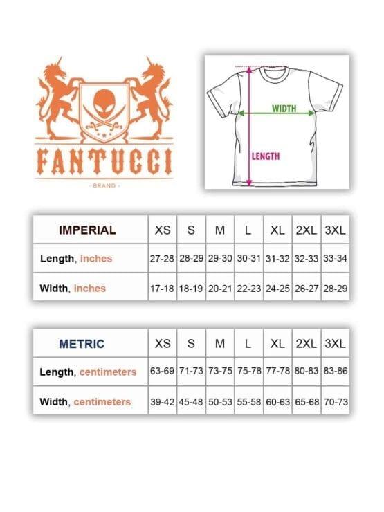 Fantucci Size Chart