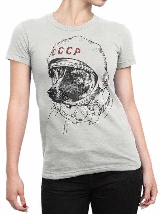 0461 Astronaut Shirt Laika_Front_Woman