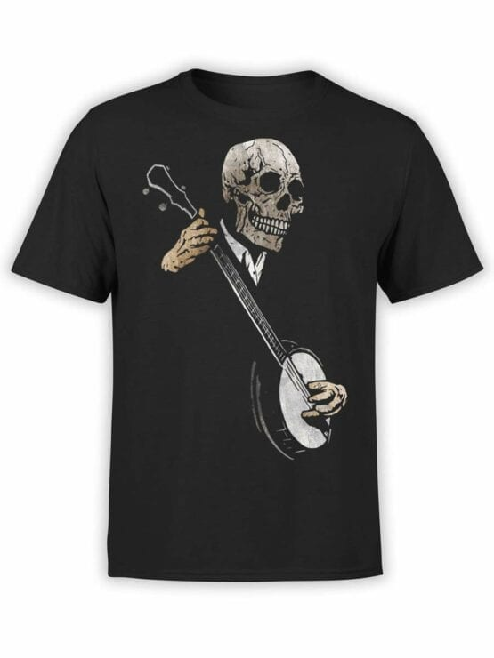 0464 Horror T-Shirts Song of Death_Front
