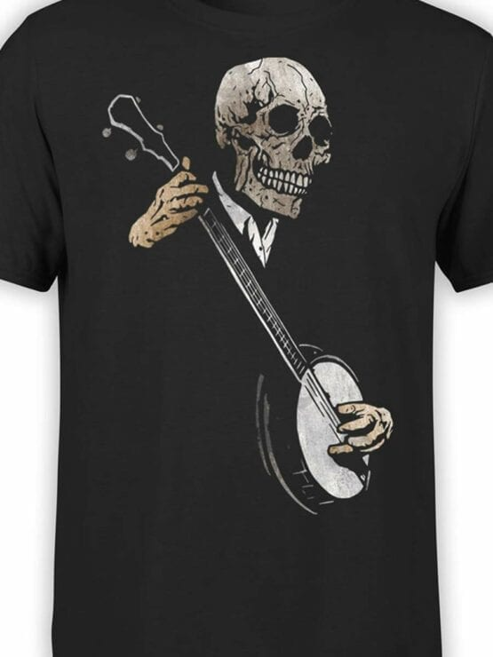 0464 Horror T-Shirts Song of Death_Front_Color