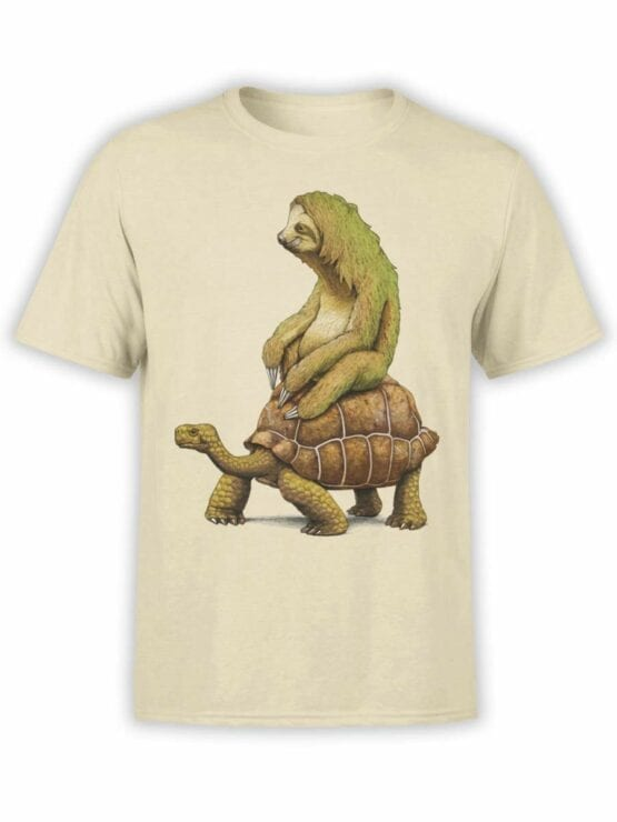 0465 Sloth Shirt Need For Speed_Front