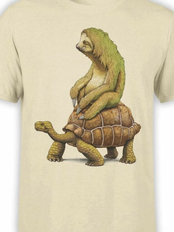 0465 Sloth Shirt Need For Speed_Front_Color