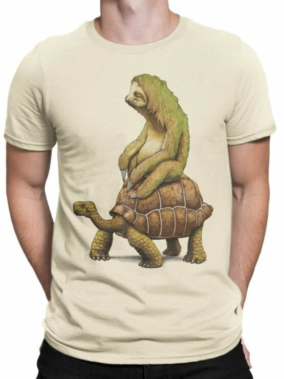 0465 Sloth Shirt Need For Speed_Front_Man