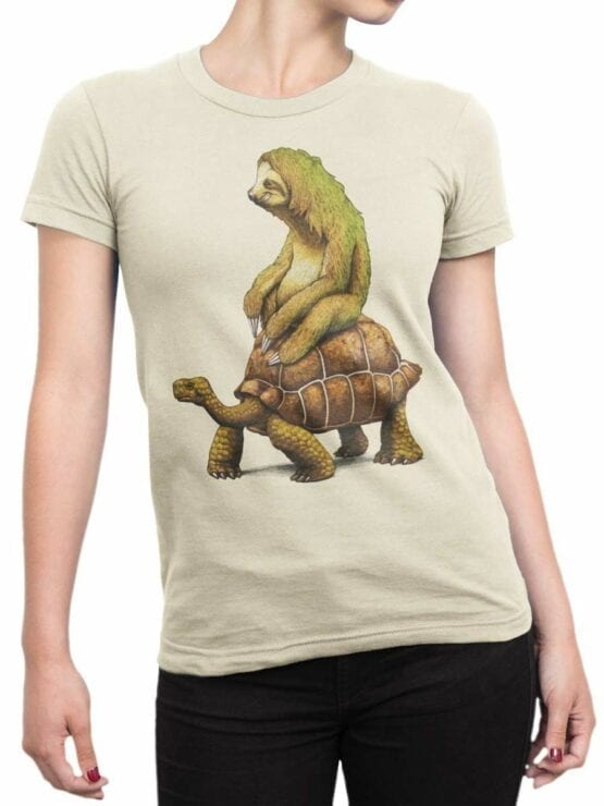 0465 Sloth Shirt Need For Speed_Front_Woman