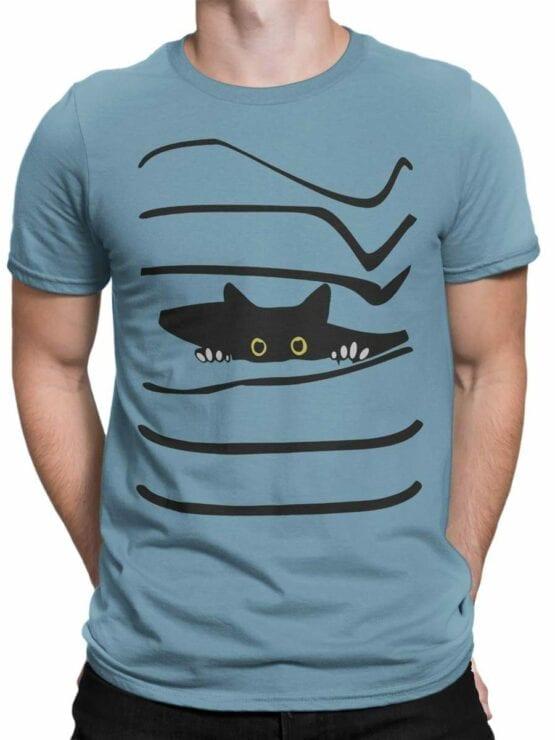0468 Cat Shirt Spy_Front_Man