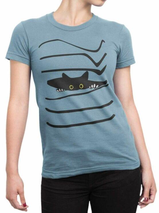0468 Cat Shirt Spy_Front_Woman