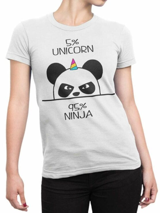 0473 Panda Shirt Unicorn Ninja_Front_Man