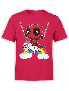 0478 Deadpool T-Shirt Unicorn