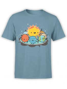 0484 Cute Shirts Solar Family