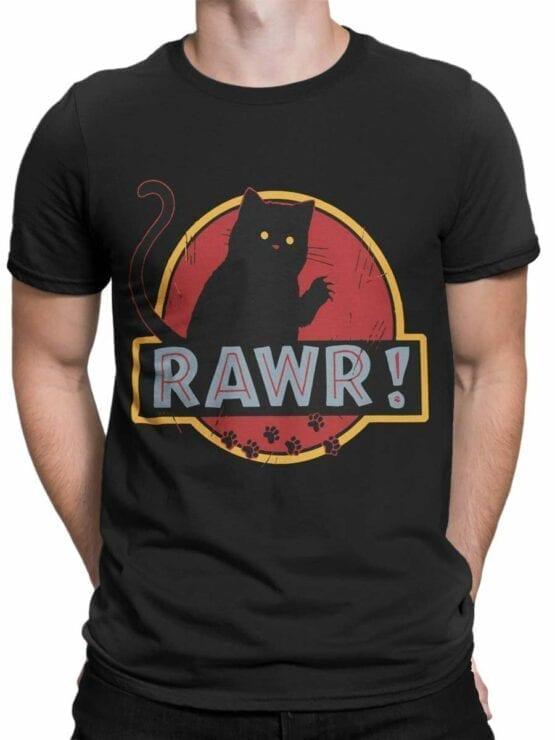 0485 Cat Shirts Rawr