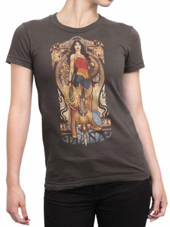 0487 Wonder Woman Shirt Mucha
