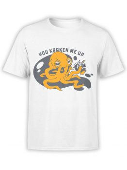 0488 Kraken Shirt You Kraken Me Up