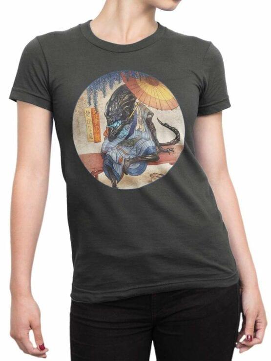 0492 Alien Shirt Xenomorph Zen Garden