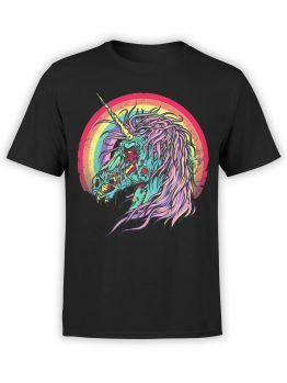0493 Unicorn Shirt Zombie Unicorn