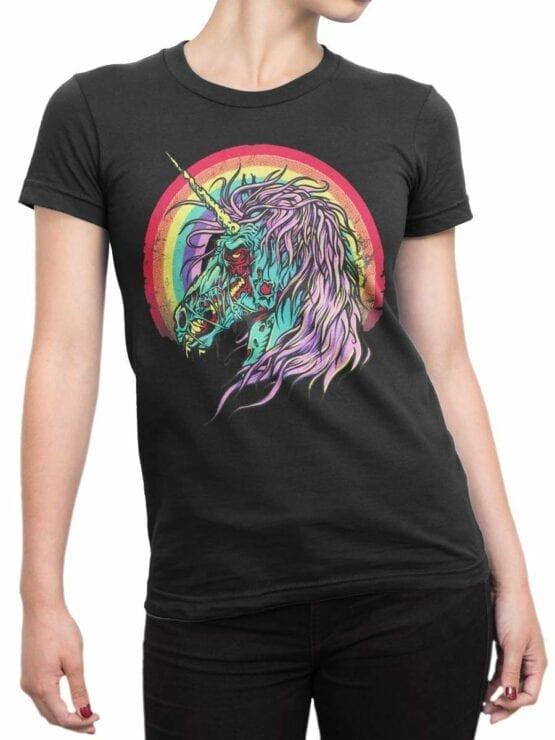 0493 Unicorn Shirt Zombie Unicorn