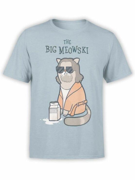 0496 Big Lebowski T-Shirt Meowski