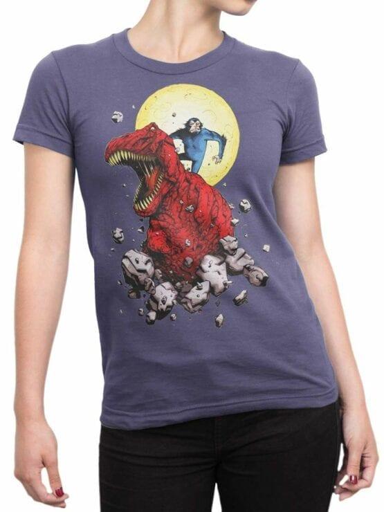 0505 Dinosaur T-Shirt Devil T-Rex