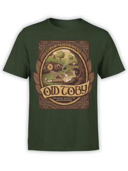0508 Lord of the Rings Shirt Old Toby Front