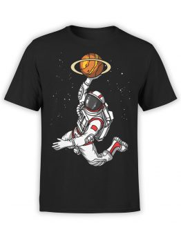 0509 NASA Shirt Space Basketball
