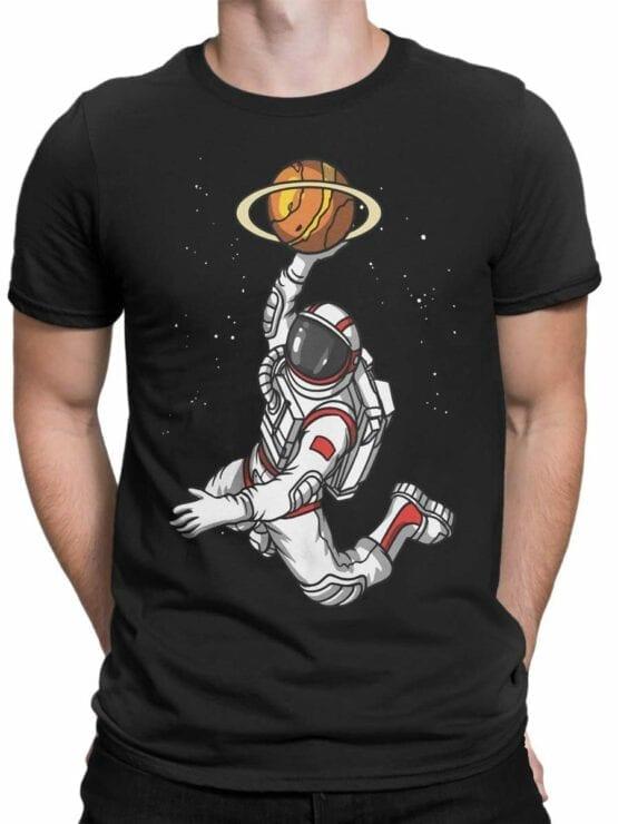 0509 NASA Shirt Space Basketball