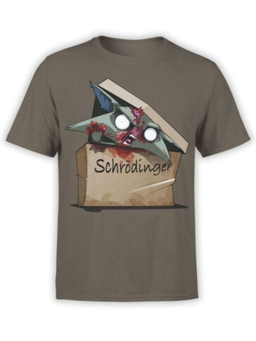0511 Science T-Shirts Schrödinger's Cat