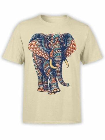 0513 Elephant Shirt Ornamented Elephant