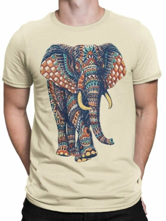 0513 Elephant Shirt Ornamented Elephant